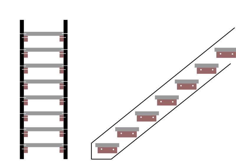 einfache holztreppe selber bauen treppen kaufen. Black Bedroom Furniture Sets. Home Design Ideas